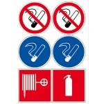 Комплект знаков пожарной безопасности/ С-МК
