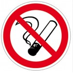 Знак - Запрещается курить/З-3К (20*20)